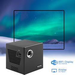Projektor DLP C80 Android 7.1OS WiFi zestaw kina domowego 4K HD projektor filmowy Beamer domowa rozrywka kino domowe 5.8gwifi