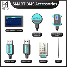 Dispaly-Board UART Bluetooth Touchable-Screen Lithium-Bms-Parts Usb Power Rs485 Canbus