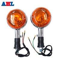 Clignotant lampe pour Yamaha Virago XV250 XV535 XV920 XV1000 XV 250 535 920 1000 toute l'année clignotant indicateur lumière ambre|  -