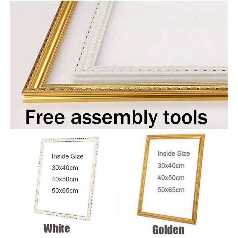 Костюм для все виды diy картина маслом по номерам деревянная рамка стены алмазная живопись Вышивка рамка для фото рамка для фотографий
