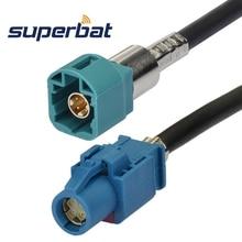 Superbat HSD LVDS Dacar 535 כבל מחבר Z קוד ישר שקע כדי Z (מים כחול/5021) קוד ישר Pulg 120cm