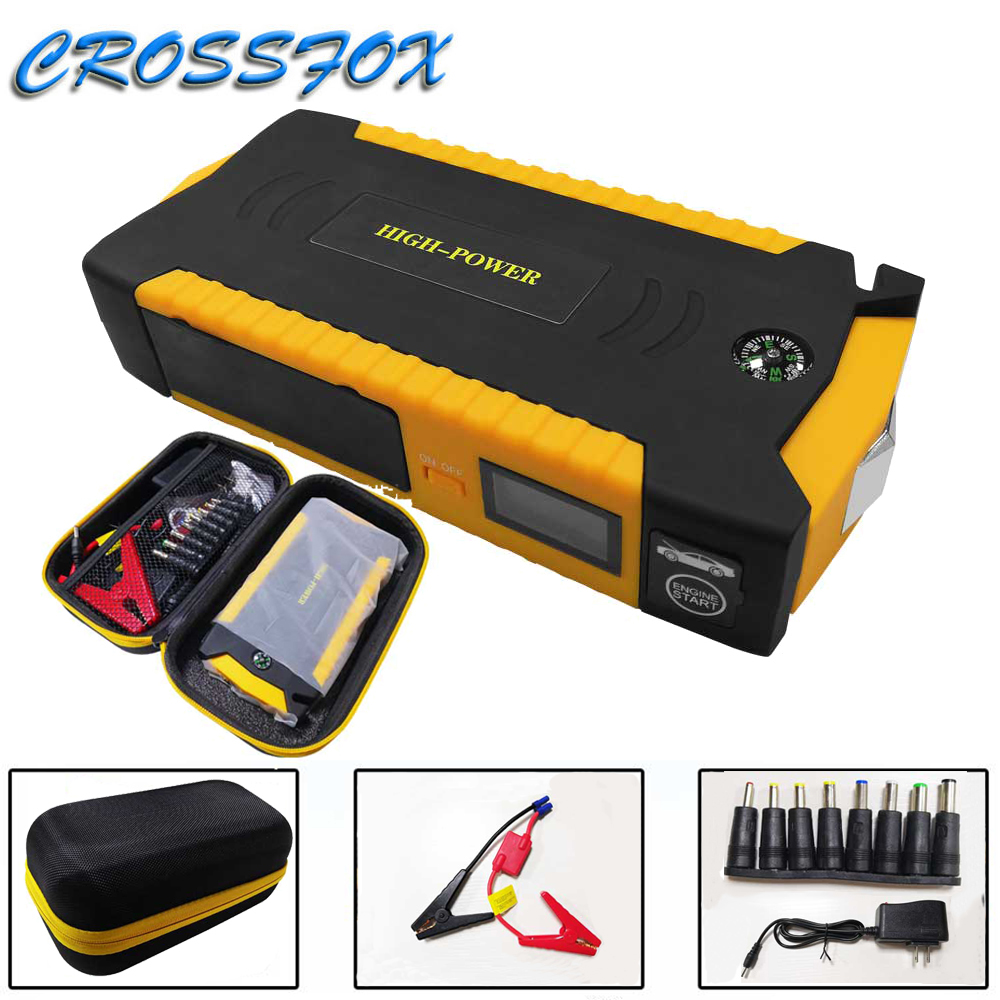 600A 12V 69800mAh Car Jump Starter Portable Battery Booster Charger Booster Power Bank Starting Device Start Charger For Car