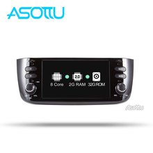 Asottu android 9.0 car dvd for Fiat/Linea/Punto 2012 2013 2014 2015 Car Multimedia Player(China)