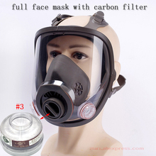 Gas-Mask Breathing RESPIRATOR-FILTER Paint-Spray Cartridge Chemical Dust Pesticide 6800