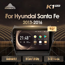 KingBeats Android 8.1 Octa-Core head unit 4G in Dash Auto Radio Multimedia Video Player Navigatie GPS Voor hyundai Santa Fe 3 2013-2016 geen dvd 2 din Dubbel Din Android Car Stereo 2din DDR4 2G RAM 32G ROM/4 + 64G(China)