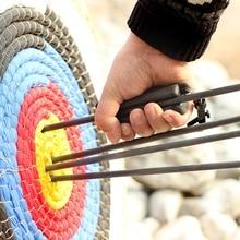 Drawer Archery puller Rubber grip Archery accessories Portable black/blue/red/orange arrow quick release