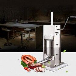 3L Household Sausage Filling Machine Manual Enema Machine Stainless Steel Sausage Stuffer Ham Sausage Making Machine HR3L