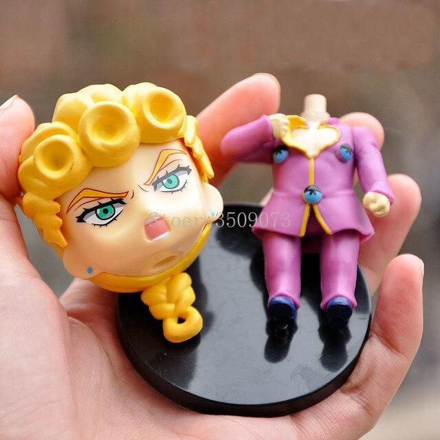 5pcs/set Anime Jojo Bizarre Adventure Figure Kujo Jotaro Figurine Higashikata Josuke Kakyoin Noriaki Action Figure Model Toy 4