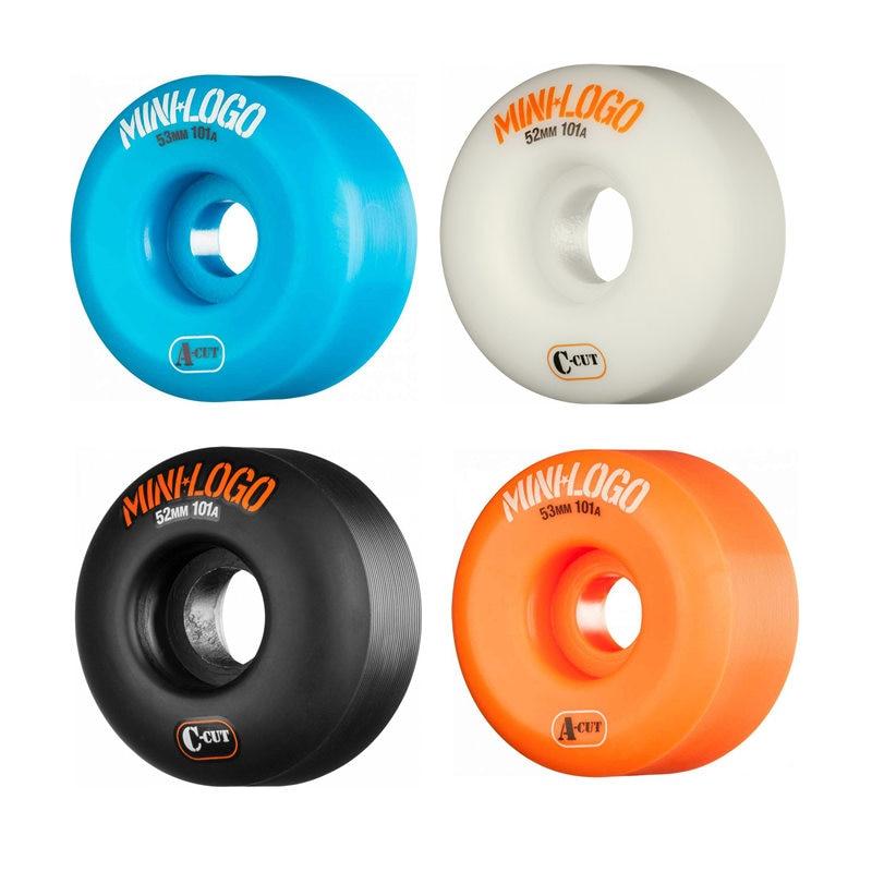 4pcs/set Minilogo Quality Skateboard Wheels 101A Skateboarding Patines Treaded Wheel For Street Skate