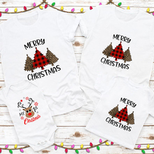 Outfit Christmas-Shirt Family Clothes Toddler Baby Kid First Mom Dad 1pcs