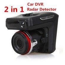 X7 radar carro dvr traço cam detector gravador de vídeo 2 em 1 hd 1080p 140 graus ângulo russo língua traço cam gravador de vídeo