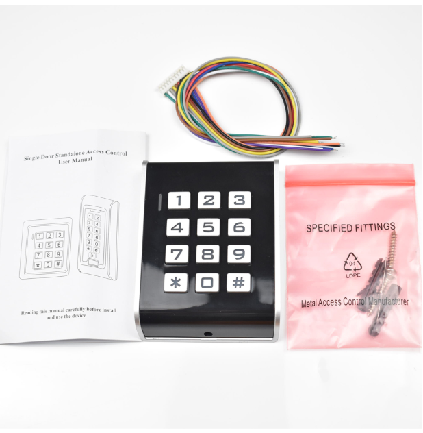 Rfid 125khz Access Control Keypad Contactless Door Controller Electric Security Lock Wiegand 26 Output With Luminous Keyboard