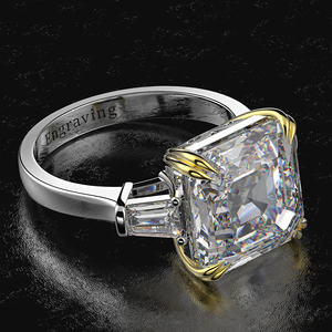 Image 3 - Wong Rain 100% 925 Sterling Silver Created Moissanite Citrine Diamonds Gemstone Wedding Engagement Ring Fine Jewelry Wholesale