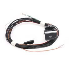 Hill Hold / Auto Hold Switch & Wire Cable Harness For Audi A3 8V White backlight button LHD