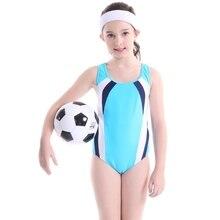 Купальный костюм для девочек детский цельный купальный костюм синий детский купальный костюм для серфинга детский спортивный костюм для девочек