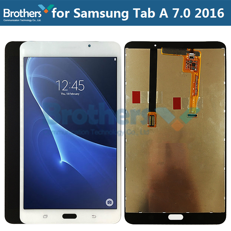 Screen For Samsung Galaxy Tab A 7.0 2016 T280 T285 LCD Display With Touch Screen Digitizer SM-T280 SM-T285 LCD Screen Panel Test