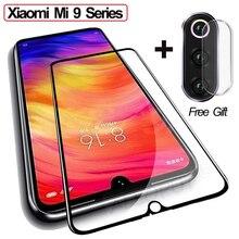 {Gift} 3D Tempered Glass Xiaomi Mi 9 SE 9T Full Cover Film mi9se mi9t Screen Protector For xiaomi mi9 t se