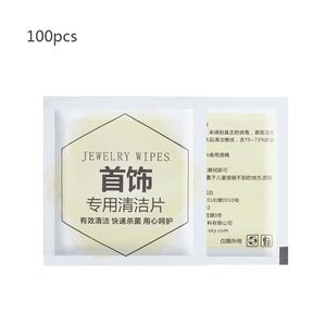 100Pcs/Box Portable Disposable Medical Alcohol Prep Pad Swabs Wipes Safe Skin Tissues Jewelry Wipes Cleaner Silverware