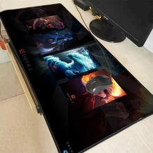 Mairuige 90X40CM Dota 2 Large Gaming Mouse Pad Gamer Locking Edge Keyboard Mat Desk Mousepad for CS GO LOL Game