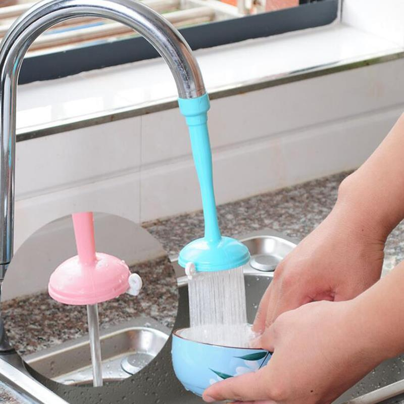 Filter Shower Water-Saving Filter Shower Accessories Faucet Sprayer Extension Kitchen Faucet Silicone Bathroom Head Tap Water