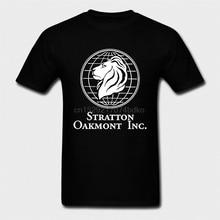 Yeni Stratton Oakmont a. Ş. Kurt WallStreet film T Shirt siyah boyutları S 2XL