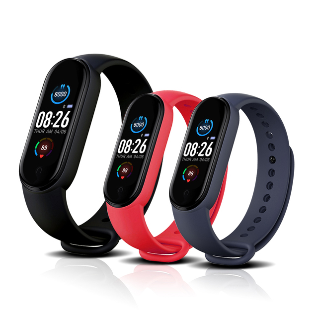 2021 Smart Band Men Woman Smartwatch Blood Pressure Heart Rate Monitor Fitness Bracelet Smart Watch For iPhone Xiaomi Android