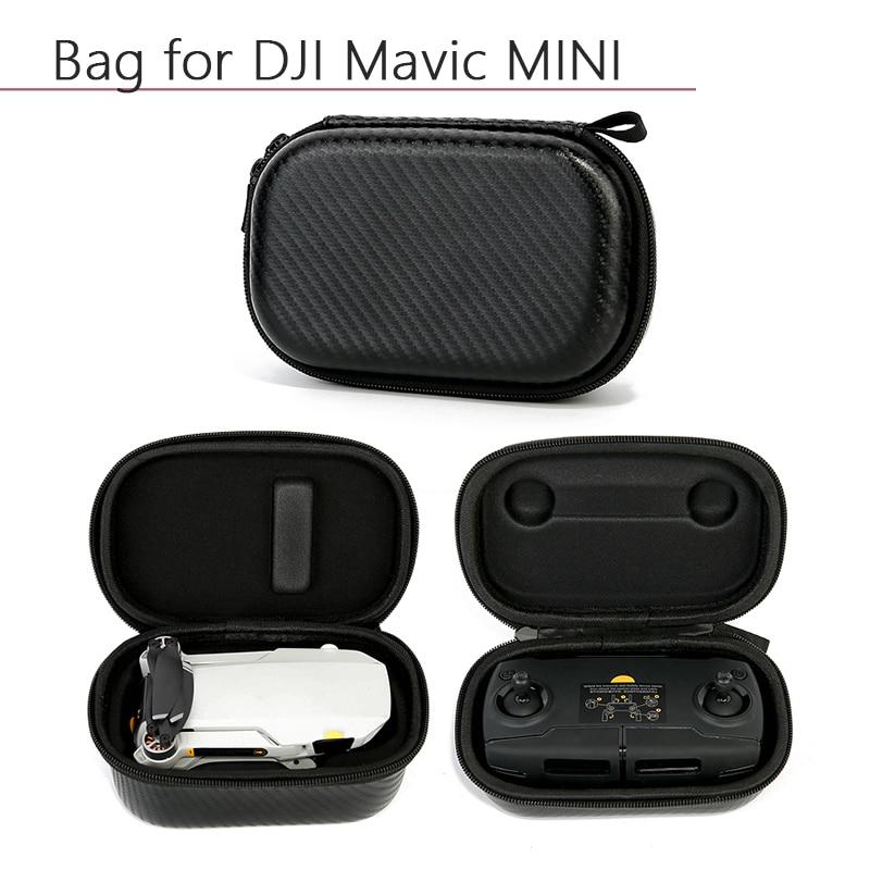 Portable Waterproof PU Nylon Storage Bag Carrying Case Protective Remote Controller Bag For DJI Mavic Mini Drone Accessories