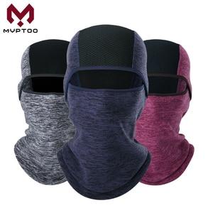 Image 1 - חורף צמר Moto כובע גרב חם אופנוע מוטוקרוס קר מזג אוויר רכיבה על אופניים טקטי מלא מסיכת פן כיסוי קסדה Caps