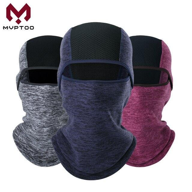 חורף צמר Moto כובע גרב חם אופנוע מוטוקרוס קר מזג אוויר רכיבה על אופניים טקטי מלא מסיכת פן כיסוי קסדה Caps
