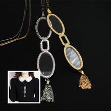תליית צוואר קריאת משקפיים פרסביופיה נשים סגסוגת קל במיוחד עדשת משקפי פרסביופיה