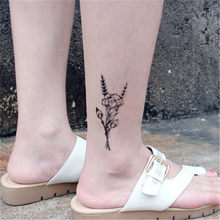 Animal Waterproof Temporary Tattoo Sticker Flamingo Cat Fox Tatoo Body Art Women New Fake Taty Cute Small Tatto(China)
