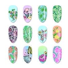 Штамповка для художественных работ пластины ногтей из нержавеющей