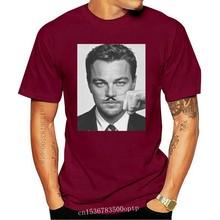 Nuova maglietta Blaze Man Funny Di Caprio baffi Idea regalo