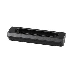 Image 3 - Kayulin 60 مللي متر الناتو سلامة السكك الحديدية بار سريع الإصدار نمط ل DSLR هيكل قفصي الشكل للكاميرا عدة