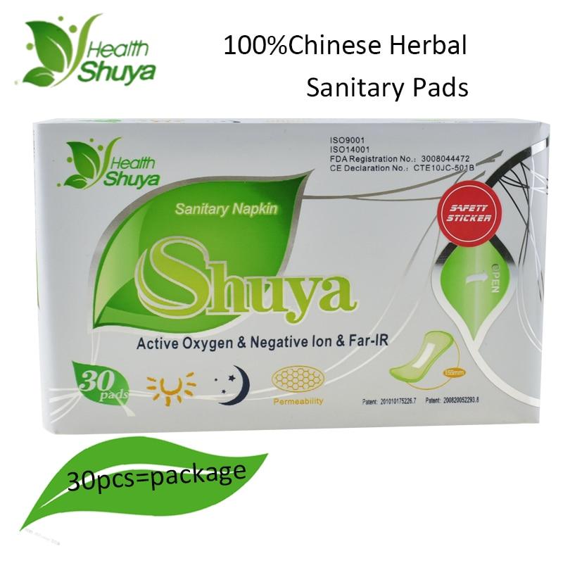 10packs Shuya Anion Santitary Napkin Menstrual Pads Panty Liners for daily use Women Health Care Anion Pads Sanitary Towel 1