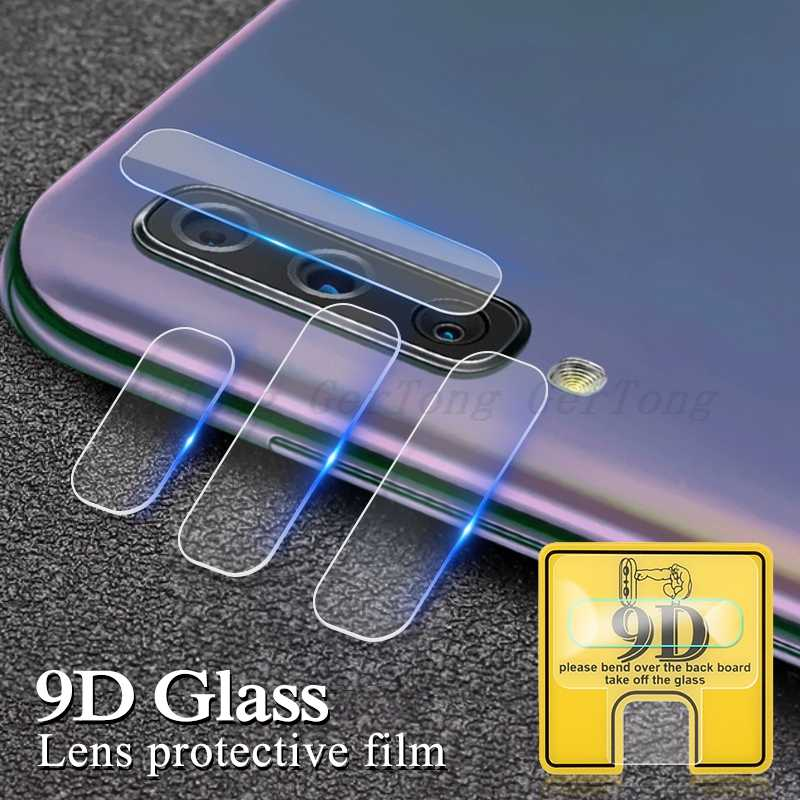 9D For Samsung Galaxy A50 Glass Back Camera Lens Screen Protector Film For Samsung Galaxy A70 A30 A10 A60 A20 A40 Tempered Glass
