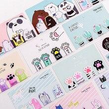 4 шт./компл. Kawaii Cat лапы магнитные закладки для книг маркер страницы канцелярские принадлежности для школьных канцелярских товаров для студентов