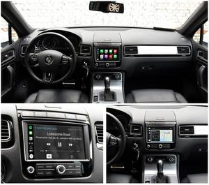 Image 3 - Joyeauto Apple Carplay inalámbrico Wifi para coche, para Volkswagen Touareg, 2010 2017, 8 pulgadas, Android Mirror, compatible con cámara delantera/trasera