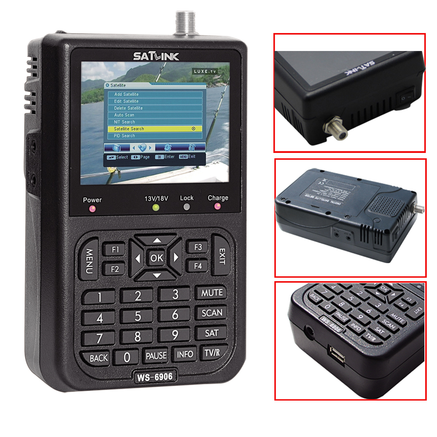 Digital Signal Finder Satlink WS 6906 3.5