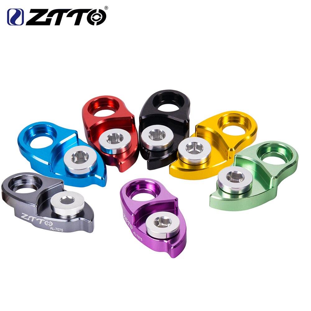 ZTTO MTB Горный Руль для шоссейного велосипеда велосипедная задняя подвеска переключатель крюк-удлинитель расширитель для Запчасти 11 42 46 50 52 т ...