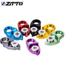 Ztto mtb mountain bike estrada da bicicleta traseira cabide desviador extensão gancho extensor para peças 11 42 46 50 52t cassete colorido