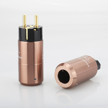 5Pairs Accuphase 40th EU Schuko Power plug IEC Connector Amplifier CD DVD player AC power cord power cable plug DIY Mains