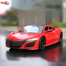 Maisto 1:24 2018 Honda Acura Alloy Racing Convertible alloy car model simulation decoration collection gift toy