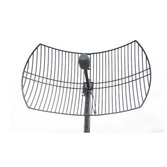 Outdoor Wifi /LTE/4G1700-2170MHz 24 Dbi Dual Polarization 10KM Parabolic Antenna