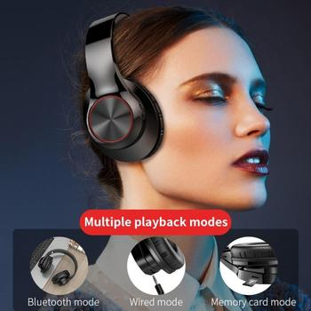 Bluetooth Headphones Wireless Gaming Headset Foldable Music Earphones Sports Earburds with Mic for M
