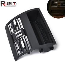 Задний кондиционер вентиляционная решетка воздуха на выходе рамка подходит для Bmw 5 серии F10 F11 2010- 64229172167 64 22 9 172 167