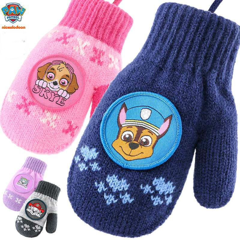 Hot 19Styles Original Paw Patrol Glove Chase Marshall Skye Cartoon Toys Stuffed Animals & Plush Doll Children Gift Free Shipping