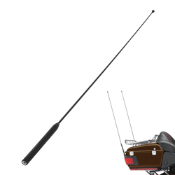 Motorcycle AM FM Antenna For Harley Touring Road Street Electra Glide 86-13 2012 Ultra Classic