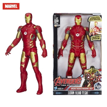 qicsyxj birthday gift supply marvel superhero action figure collection 23cm limited edition lady deadpool model decorations Marvel Toy Avengers Iron Man Toy Action Figure Model Electric Sound and Light Boy Birthday Gift Marvel Doll Toy Action Figure