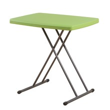A Simple Plastic Folding Table Household Small Table Children's Learning Table Can Lift Portable Outdoor Computer Desk